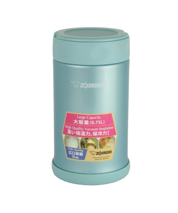 Zojirushi SW-FCE75-AB Stainless Steel Food Jar 750ml - Aqua Blue