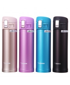"Zojirushi SM-KB48 ""One Touch Open"" Stainless Steel Vacuum Bottle 480ml"