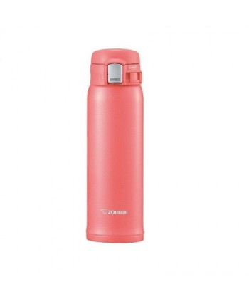 "Zojirushi SM-SC48-PV ""One Touch Open"" Stainless Steel Vacuum Bottle 480ml"