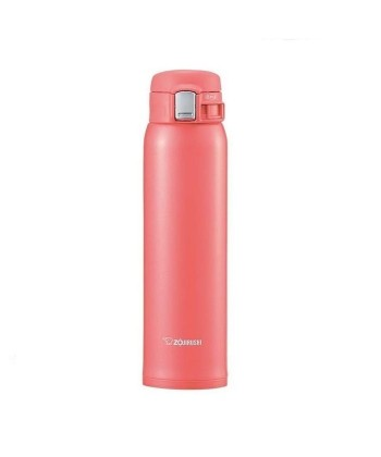 """Zojirushi SM-SC60-PV """"One Touch Open"""" Stainless Steel Vacuum Bottle 600ml"""