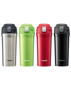 """Zojirushi SM-YAF48 """"One Touch Open"""" Stainless Steel Vacuum Bottle 480ml"""