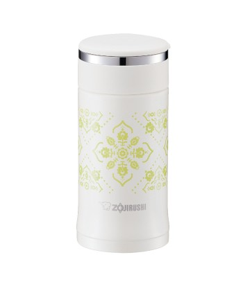 Zojirushi SM-ED20-WP Stainless Steel Vacuum Bottle 200ml