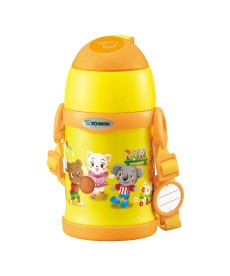 Zojirushi SC-ZEE45-EK Stainless Steel Vacuum Bottle for Kids with Straw 450ml - Yellow