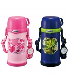 Zojirushi SC-MC60 Stainless Steel Vacuum Bottle for Kids with Cup 600ml