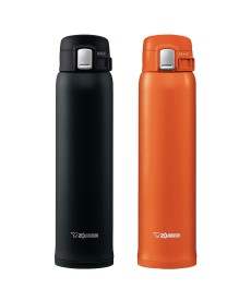 """Zojirushi SM-SHE60 """"One Touch Open"""" Stainless Steel Vacuum Bottle 600ml"""