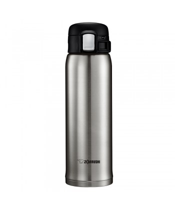 "Zojirushi SM-SD48-XA ""One Touch Open"" Stainless Steel Vacuum Bottle 480ml - Stainless"
