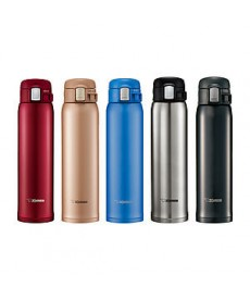 "Zojirushi SM-SD60 ""One Touch Open"" Stainless Steel Vacuum Bottle 600ml"