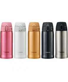 "Zojirushi SM-TA36 ""One Touch Open"" Stainless Steel Vacuum Bottle 360ml"