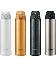 "Zojirushi SM-TA60 ""One Touch Open"" Stainless Steel Vacuum Bottle 480ml"