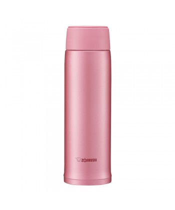 "Zojirushi SM-NA48-PA ""Twist Open"" Stainless Steel Vacuum Bottle 480ml - Pink"