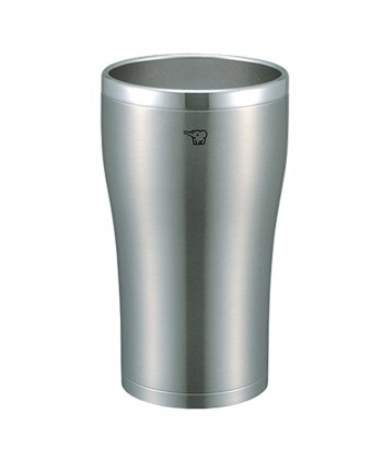 Zojirushi SX-DN45-XA Stainless Steel Double Wall Vacuum Insulated Tumbler 450ml - Clear Stainless