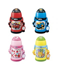 Zojirushi SC-ZT45 Two-Way Stainless Steel Vacuum Bottle for Kids with Straw + Cup attachments 450ml