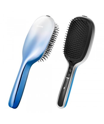 TESCOM TIB20 Battery Operated Ionic Anti-Static Styling Brush - Blue