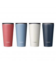 Zojirushi SX-FSE45 Stainless Steel Double Wall Vacuum Insulated Tumbler with Tea Strainer450ml